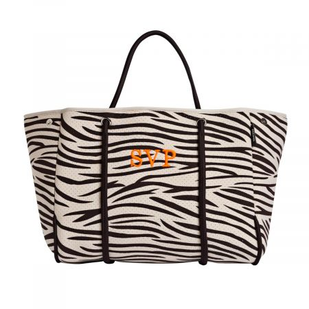 BOLSO ANIMAL PRINT ZEBRA